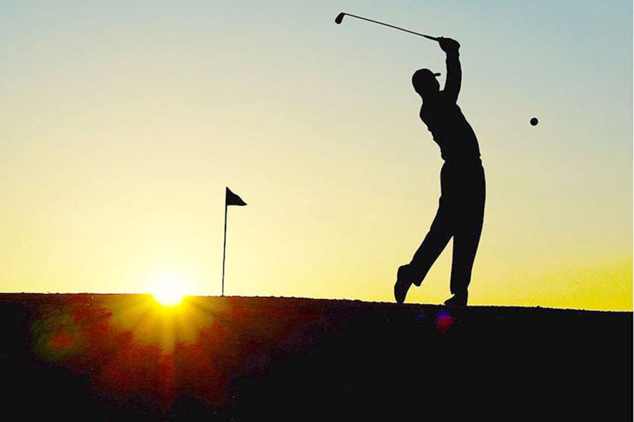 Freier Golfplatz 1,2 km vom Haus