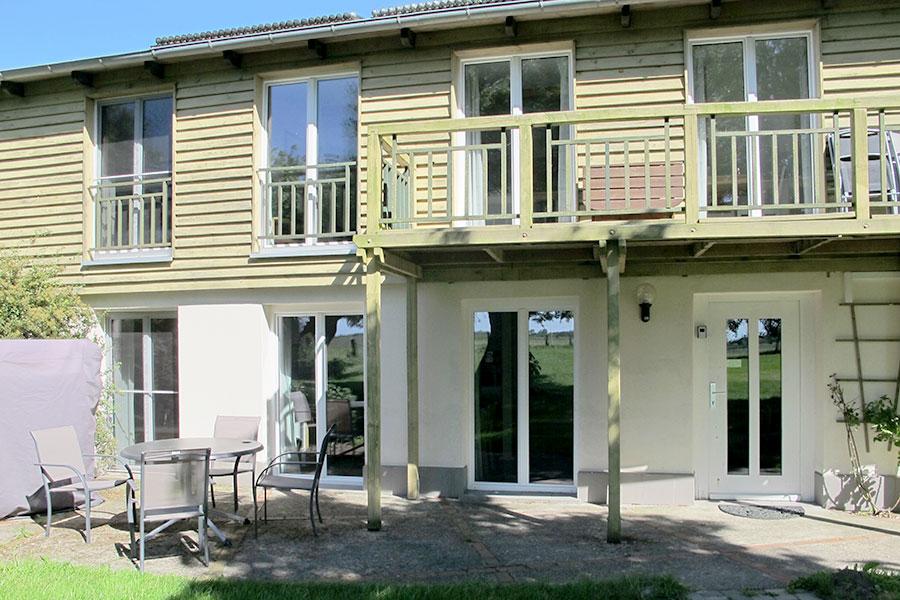 "Balkon Wohnung ""Süderhever"" Tholenhof St. Peter-Ording Nordsee"